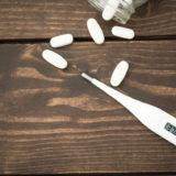 体温計とお薬