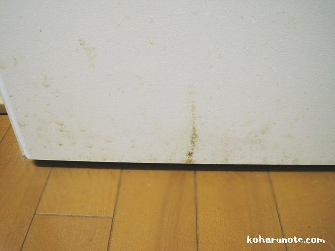 汚れた食器棚