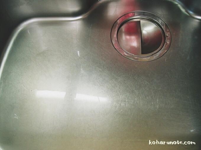 セリアの排水口カバーを取り付け