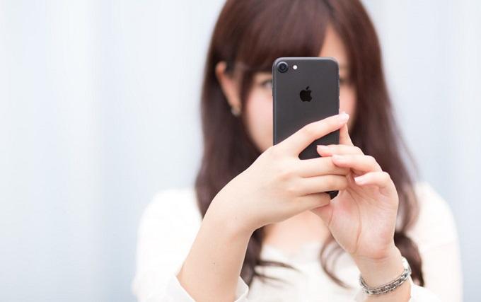 iPhoneをで写真を撮る人
