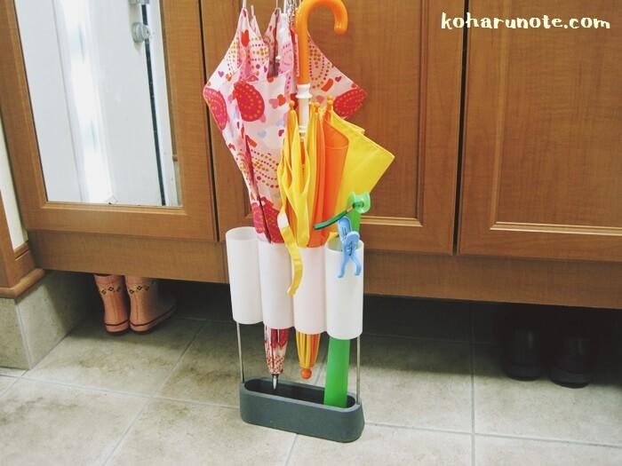 床に置くタイプの傘立て