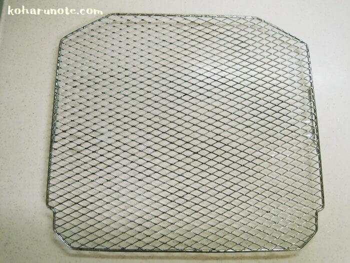 重曹ペーストで掃除したトースターの網