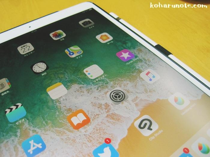 iPad Pro10.5インチの画面