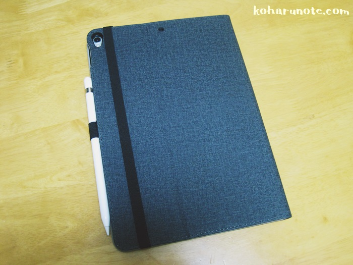 ZtotopのiPad Pro10.5インチ用ケースの背面
