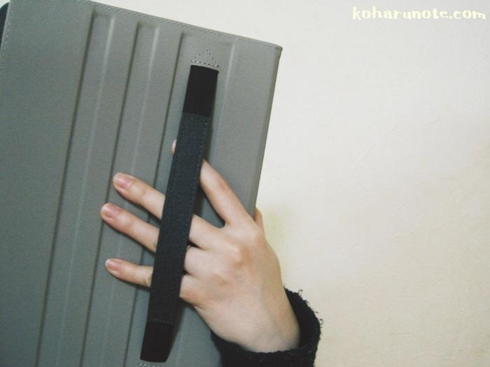 ZtotopのiPad Pro10.5インチ用ケースのゴムバンド
