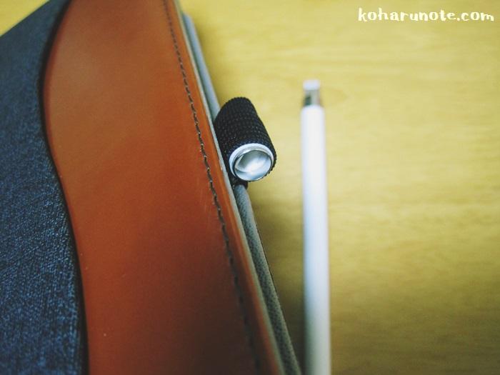 ケースに引っ掛かって外れるApple pencilのキャップ