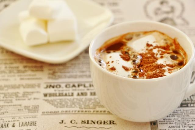 コーヒーに浮かべたマシュマロ